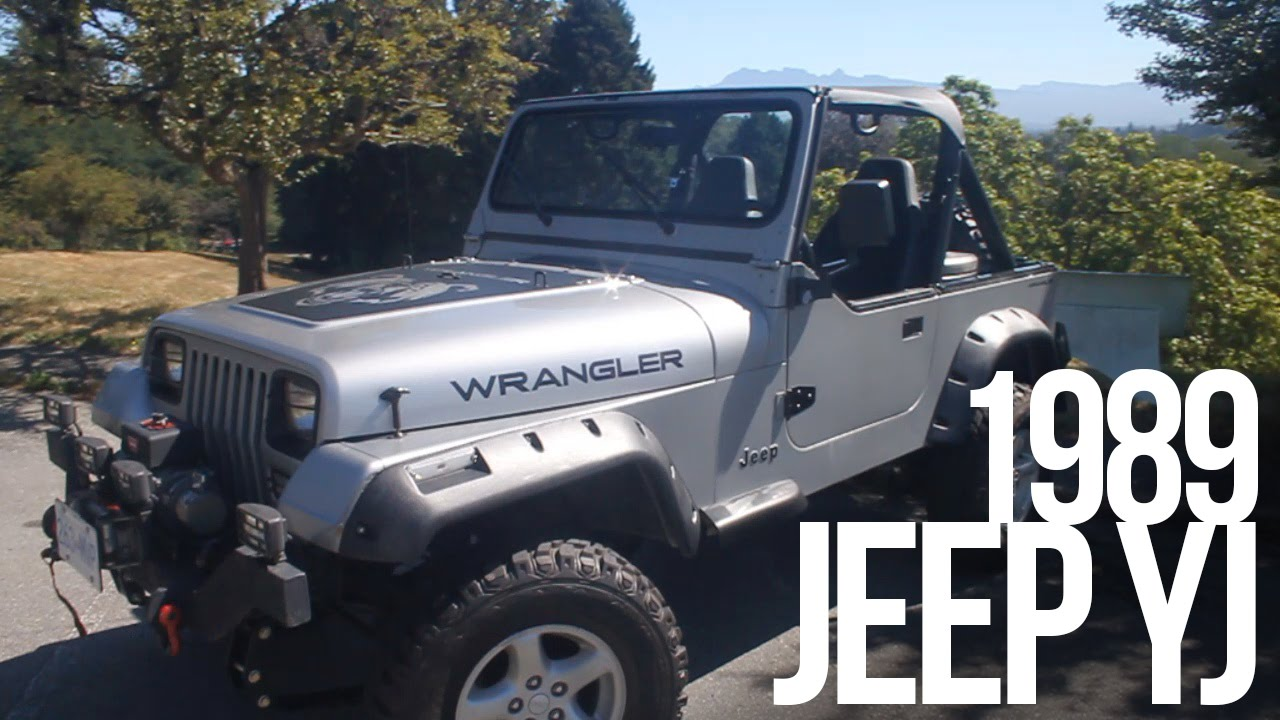 My Beloved Yj Jeep Wrangler 1989 Youtube
