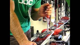 How the Professionals Mount an Alpine Ski Binding