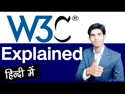 What Is W3C And W3C Validation ? Explained In Hindi