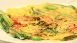Pajeon (파전) : Delicious Korean-style Pizza / Pancake Perfect For A Rainy Day