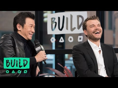 """Pilou Asbaek And Chin Han On """"Ghost in the Shell"""" 