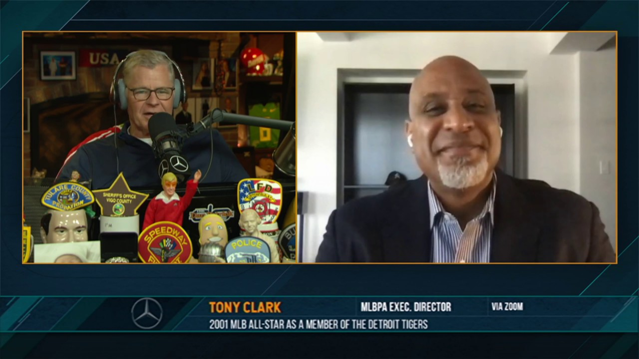 Tony Clark on the Dan Patrick Show (Full Interview) 07/02/20