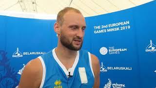Европейские игры-2019. Баскетбол 3х3. Алексей Щепкин - о поражении от Росии