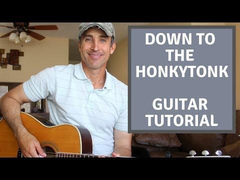 Down To The Honkytonk - Jake Owen - Guitar Lesson   Tutorial