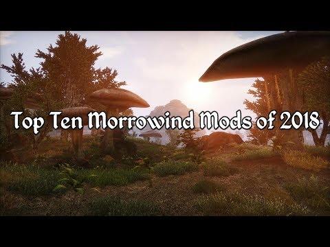 Top Ten Morrowind Mods of 2018