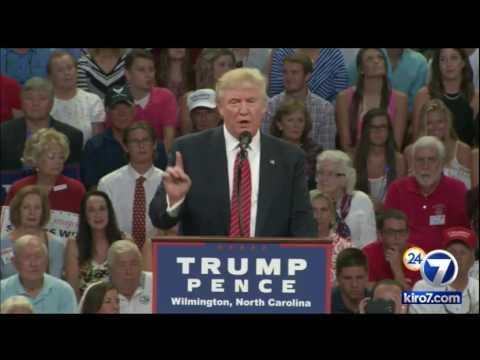 FULL SPEECH: Donald Trump in Wilmington, North Carolina, August 9, 2016