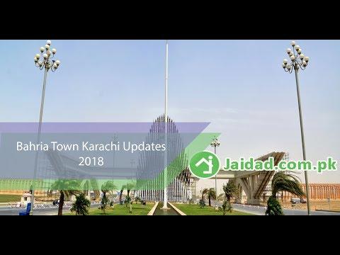 Bahria Town Karachi Location where taj Mahal, New York Park and theme park build by jaidad 2018