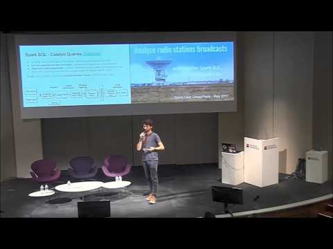 Radio stations, SparkSQL, Spotify and Databricks - Paris Spark Meetup - Société Générale