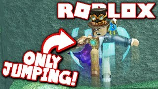 JUMPING ONLY CHALLENGE IN FLOOD ESCAPE 2!! (Roblox)