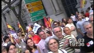 2003 09 27 Mani Contra GuerraIraq 1