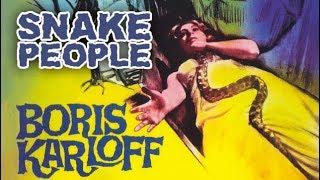 Boris Karloff - Snake People (Horrorfilm in voller Länge auf Deutsch anschauen) *HD*