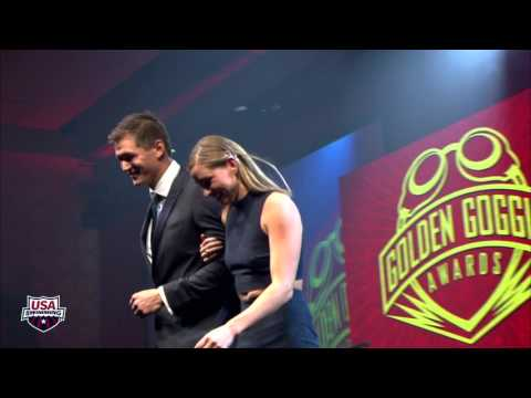 2015 Golden Goggle Awards Show: Athlete Introductions