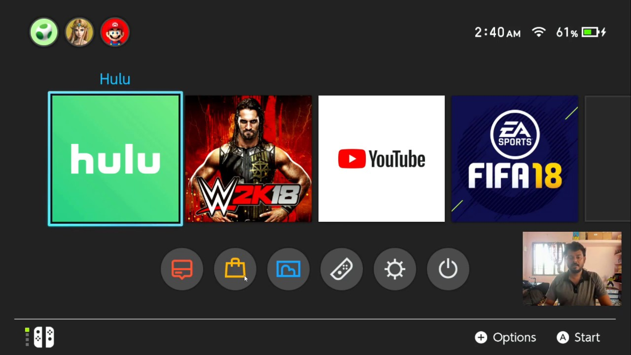 How to RE-DOWNLOAD HULU app in NINTENDO SWITCH?