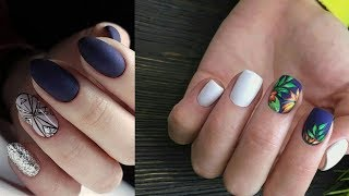 EASIEST REALISTIC MARBLE NAILS | Daisy Nail Art For Beginners  #7