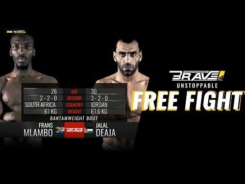 Brave 4 Free Fight: Frans Mlambo vs Jalal Al Daajo