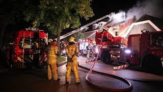 12-09-20 Grote brand in restaurant te Harmelen