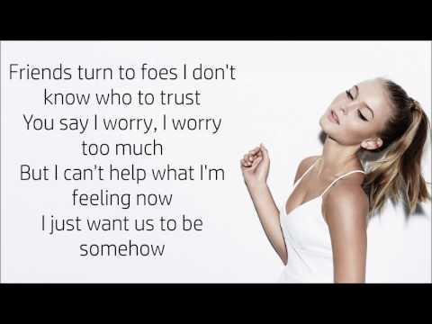 Zara Larsson ~ Bad Boys ~ Lyrics