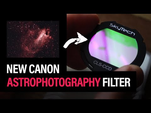 New Canon Astrophotography Filter (SkyTech CLS-CCD Review)