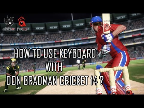 How to enable Keyboard controls in Don Bradman Cricket 14?