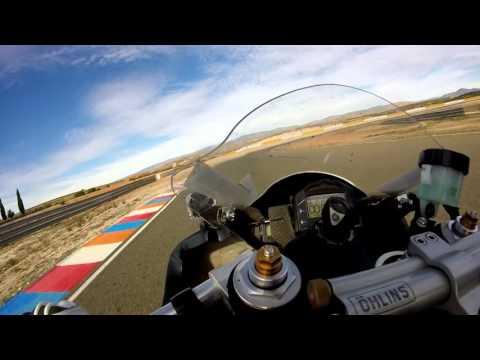 Almeria fast lap Yamaha R6 1.43.96