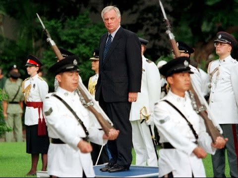 Chris Patten - Governor's  Final Tour of Government House HONG KONG