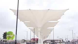 NEW IKEJA BUS TERMINAL AND THE OSHODI TRANSPORT INTERCHANGE UNDER CONSTRUCTION