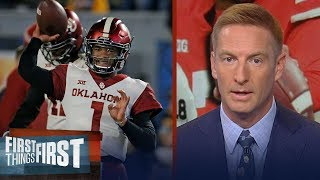 Joel Klatt reacts to final CFB Playoff rankings, New Heisman front runner | CFB | FIRST THINGS FIRST