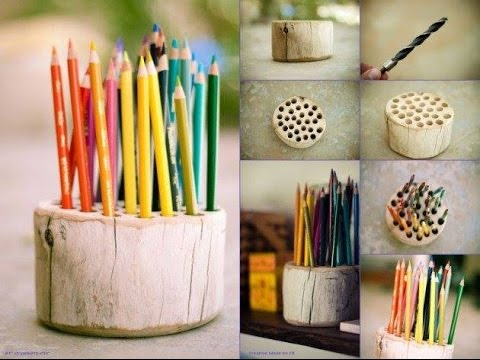 Creative reuse recycled ideas for home decoration from for Simple waste material things