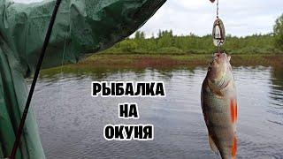 Рыбалка на Окуня в секретном месте