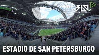 Mundial Rusia 2018: El estadio de San Petersburgo, en 360º