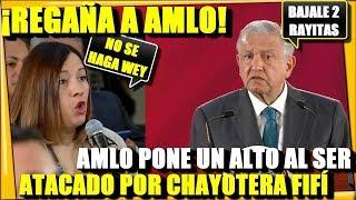 🔴 ¡REGAÑA A GRITOS CHAYOTERA FIFI A AMLO! OBRADOR LE VOLTEA LA TORTILLA - ESTADISTICA POLITICA