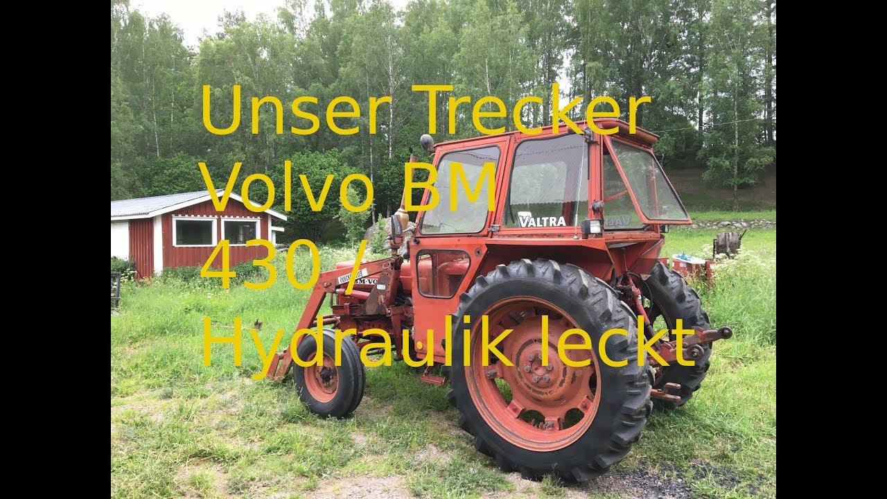 Prächtig Volvo BM 430 / Hydraulikzylinder abdichten - YouTube #MA_55