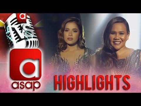 ASAP Versus: Diva versus Diva! The Vocal Showdown of Klarisse and Bituin on ASAP Versus