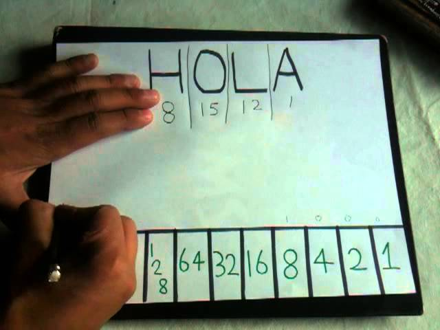 Leer Código Binario Convertir Letras A Números Youtube