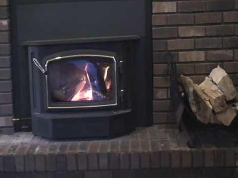 Regency wood stove insert - Regency Wood Stove Insert - YouTube