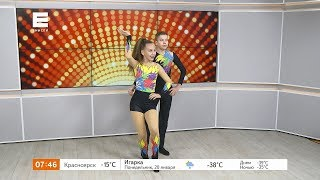 Зажигательный акробатический рок-н-ролл от Глеба Жихарева и Софьи Путинцевой
