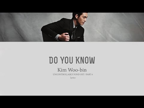 Kim Woo-Bin - DO YOU KNOW (혹시 아니)...