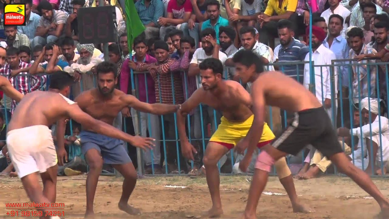 KARHALI SAHIB (Patiala)||  KABADDI CUP - 2015 || PRE FINALS 70 Kgs. || Full HD || Part 2nd.