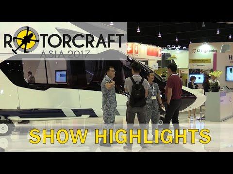 Rotorcraft Asia 2017 Show Highlights