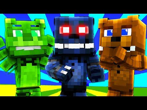 FNAF World - NIGHTMARE BONNIE! (Minecraft Roleplay) Night 4
