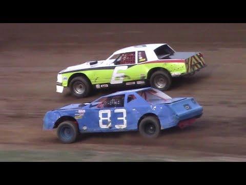 Pure Stock Heat Three | McKean County Raceway | 8-17-17