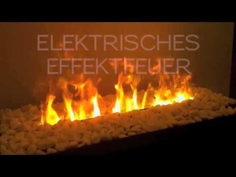 design heating elektrisches effektfeuer youtube. Black Bedroom Furniture Sets. Home Design Ideas