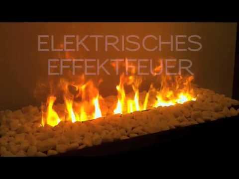 design heating elektrisches effektfeuer youtube. Black Bedroom Furniture Sets. Home Design Ideas