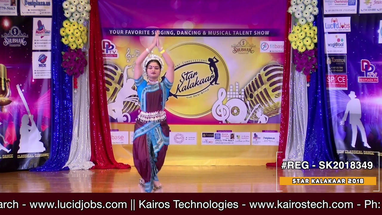 Registration NO - SK2018349 - Star Kalakaar 2018 Finals - Performance