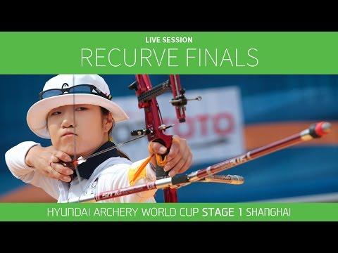Live Session: Recurve Finals |Shanghai 2016 Hyundai Archery World Cup S1