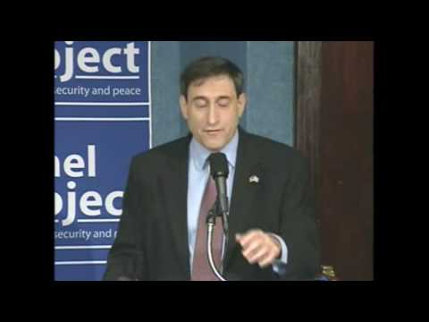 Sallai Meridor addresses the National Press Club during Israel's Defensive Operation in Gaza part 1