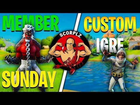 [SLO] Member Sunday + Customi | !ig !članstvo !steelseries !ts !discord