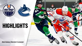Oilers @ Canucks 2/25/21 | NHL Highlights
