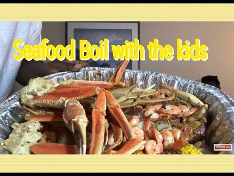 Huge Family Seafood Boil|King Crab|Snow Crab|Shrimp & more|BOIL #2