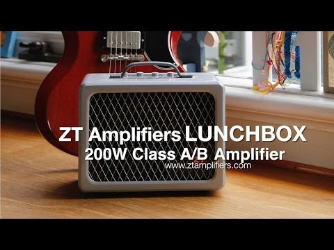ZT Amplifiers: LUNCHBOX